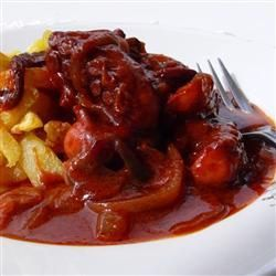 Fresh Octopus in Tomato Sauce @ allrecipes.com.au
