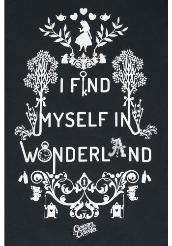 I Find Myself In Wonderland – Turnbeutel von Alice im Wunderland