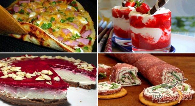 TOP 10 fantasztikus, 15 perc alatt elkészíthető fogás - édesség, vendégváró, gyors vacsora...