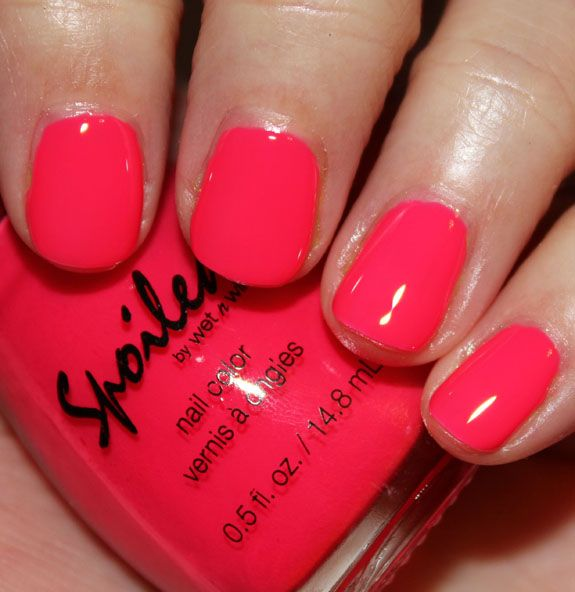Fluorescent Neon Pink Nail Polish: 25+ Best Ideas About Neon Pink Nail Polish On Pinterest