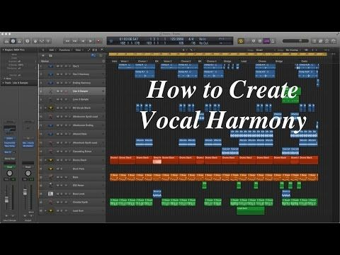 Creating Vocal Harmony in Logic Pro X - YouTube