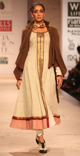 flare dress by Anju Modi
