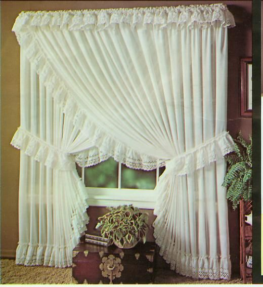 Farmhouse Window Treatments Bedroom Shabby Chic