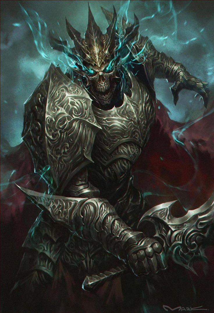 Skullknight by kamiyam...