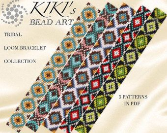 Bead Loom Pattern Tribal Loom Package Native American