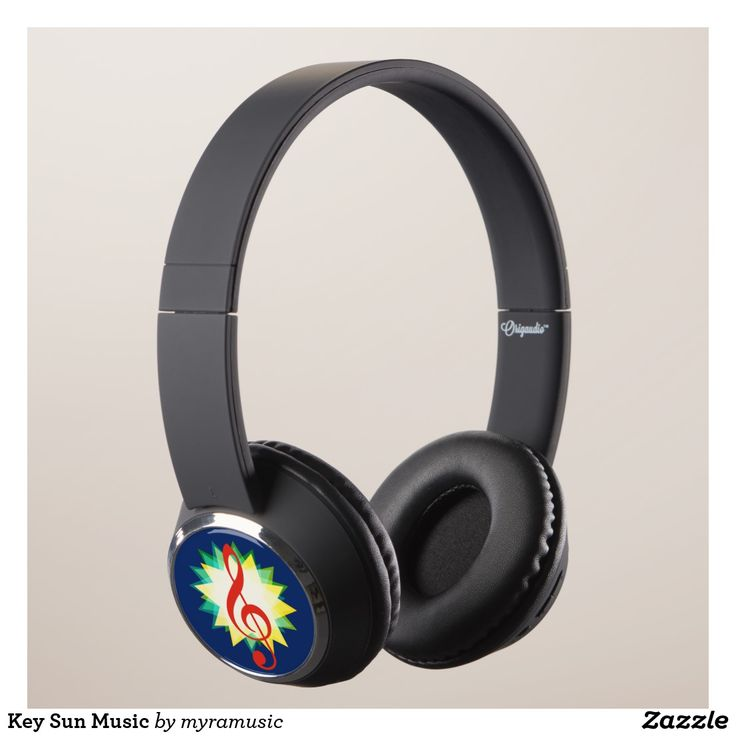 Key Sun Music Headphones. Música, music. Producto disponible en tienda Zazzle. Tecnología. Product available in Zazzle store. Technology. Regalos, Gifts. #headphones #sound #music