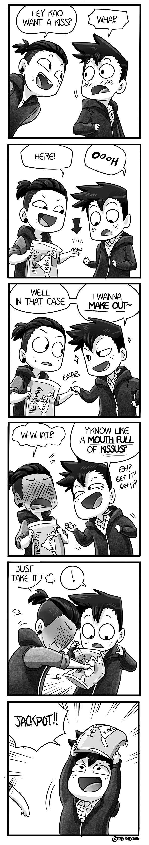 Mondo Mango :: Kiss (Ft. CK) | Tapastic Comics - image 1
