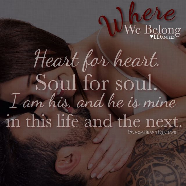 Where We Belong by J Daniels