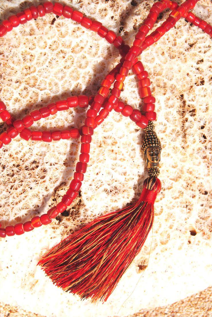 Red Dreamland Mala - yoga praying mala - spiritual gift by HoliMalas on Etsy https://www.etsy.com/listing/455901462/red-dreamland-mala-yoga-praying-mala