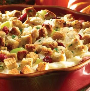 Got any holiday leftovers hanging around? Hellmann's Leftover Turkey Casserole to the rescue! Combine stuffing, turkey, cranberry sauce and mashed potatoes with a little mayo and cheese and you've got yourself a fabulous dinner.
