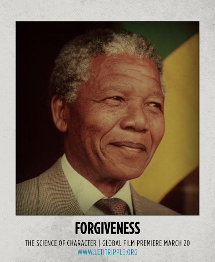 Nelson Mandela is our inspiration for #Forgiveness #CharacterDay letitripple.org