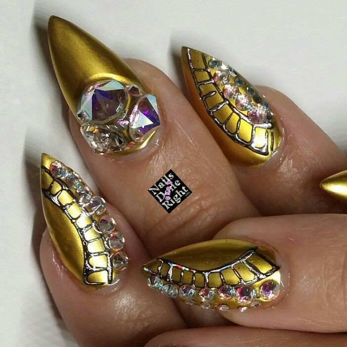 10 best New Years Nails images on Pinterest | Bling nails, Cute ...