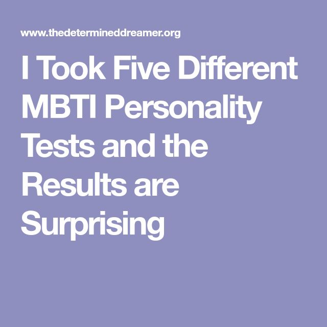 I Took Five Different MBTI Personality Tests and the Results are Surprising