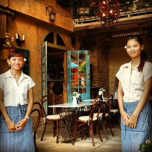 Our wait staff is ready to serve you...