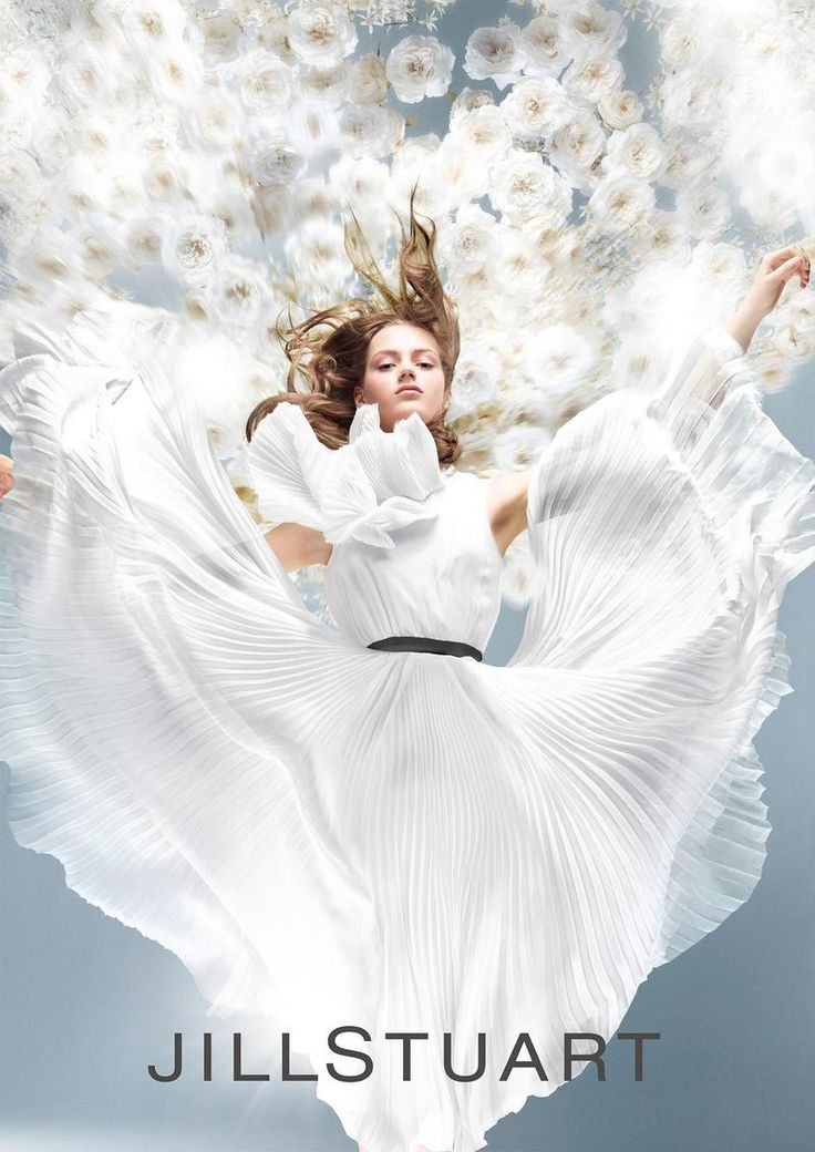 Esther Heesch for Jill Stuart 'Crystal Bloom' 2014 Fragrance Campaign by Satoshi Saikusa