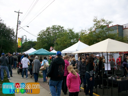 September's Cranberry Festival in Fort Langley