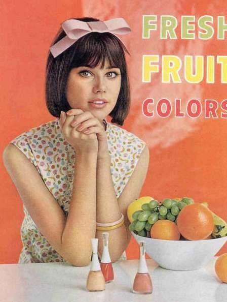 Colleen Corby Nail Polish Ad 1960s