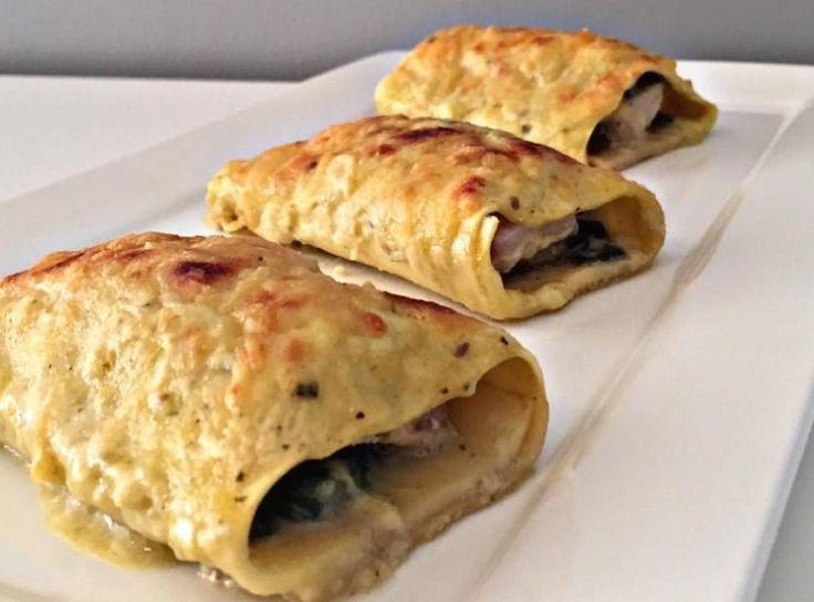 Het liefst wil je iets snel, gezond en lekker op tafel hebben. Ik dacht aan gevulde lasagnerolletjes met een heerlijke spinaziemengsel, tonijn steak en lekker sausje.