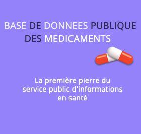 Ouverture de la première base de données publique des médicaments
