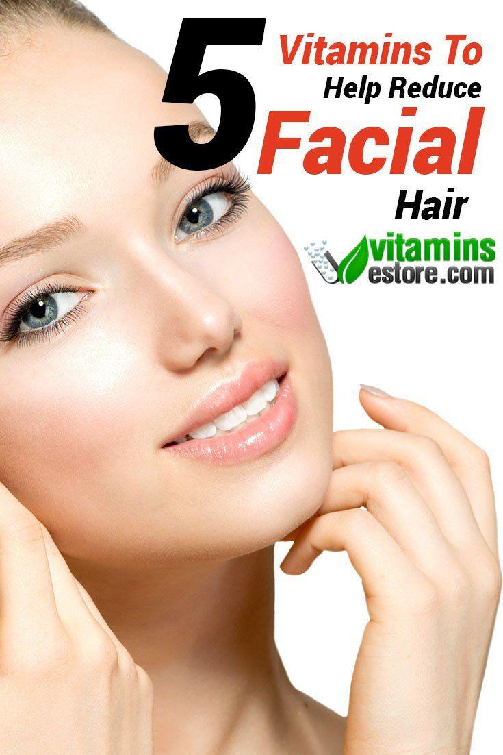 Hormones causing facial hair