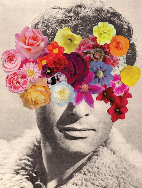 Fascinating, colourful collage by Zoë Austin.