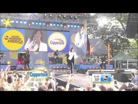 Demi Lovato Performs Really Don't Care, Heart Attack & Neon Lights On Good Morning America - http://oceanup.com/2014/06/06/demi-lovato-performs-really-dont-care-heart-attack-neon-lights-on-good-morning-america/