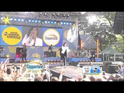 [HD] Demi Lovato ~ Neon Lights & Heart Attack ~ GMA Concert Series