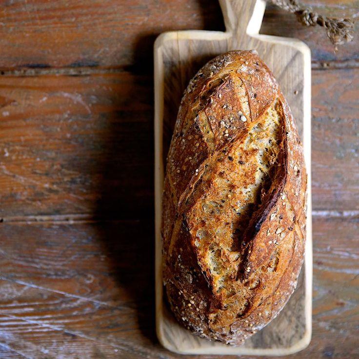 Цельнозерновой хлеб » Рецепты » Кулинарный журнал Насти Понедельник. Кулинарные рецепты с фото.