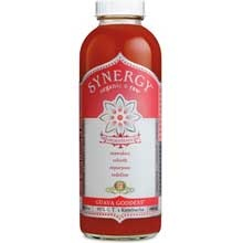 GTs Enlightened Synergy Organic and Raw Kombucha Guava Goddess