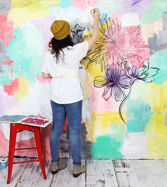 Best Wall Painters In Hyderabad: Best 25+ Creative Wall Painting Ideas On Pinterest