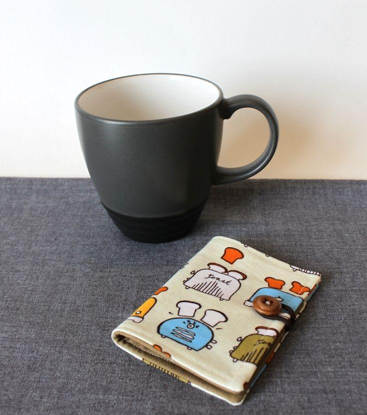 Handmade Therapy: Tea Wallet Tutorial