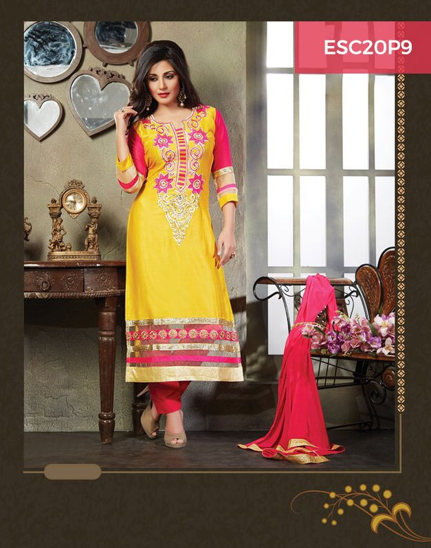 Monday Dhamaka Deal!! Ultimate Rimi Sen Yellow Cotton Suit for just Rs 1399/- Shop now @ http://www.enasasta.com/deal/rimi-sen-yellow-suit Call or Whatsapp @08288886065  Cash on Delivery at available (Rs99 extra) || Shipping Free