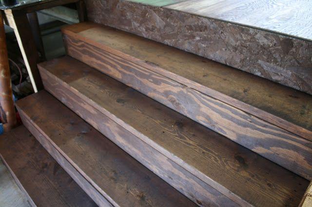 Plywood Floors on Pinterest | Stained plywood floors, Diy flooring ...
