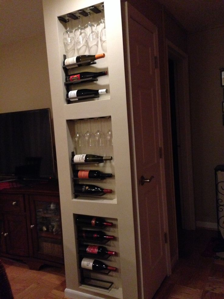 Top 25 best built in wine rack ideas on pinterest kitchen wine rack design wine cooler - Wine rack for small spaces property ...