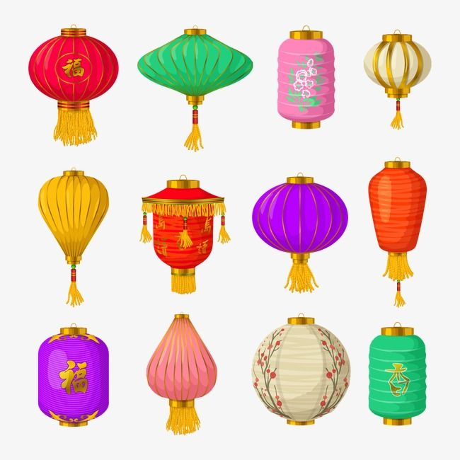 Chinese Festival Lantern Cliparts