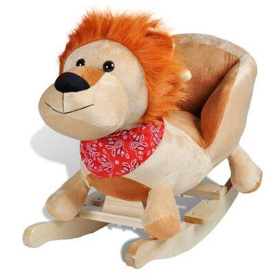 Speelgoed Reviews: Schommel leeuw