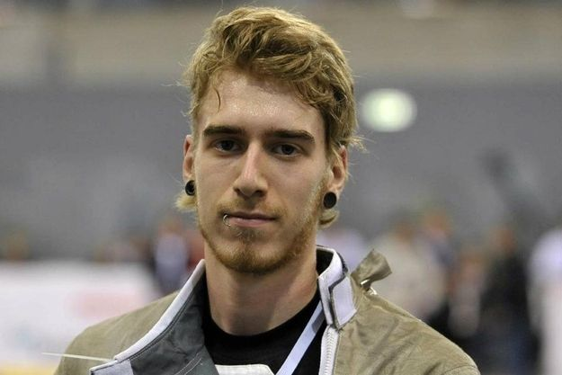 new crush! james honeybone, olympic fencer from UK