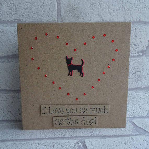 Funny Chihuahua card Funny dog card Funny Birthday card