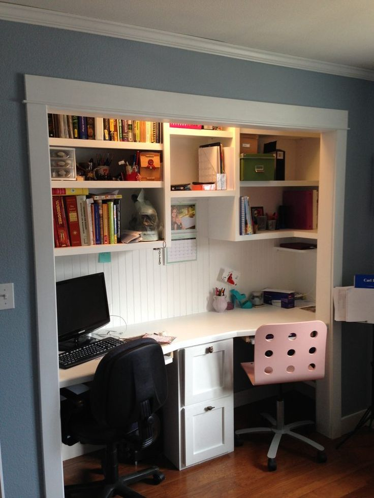 Desk Built Into Closet 11 best rf playroom/study images on pinterest | office nook, craft