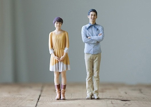 First In The World, Print Miniatures With Otome 3D Printing Photo Booth
