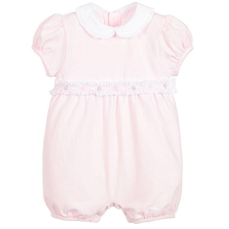 Malvi & Co Isi Baby - Baby Girls Pink Jersey Shortie |