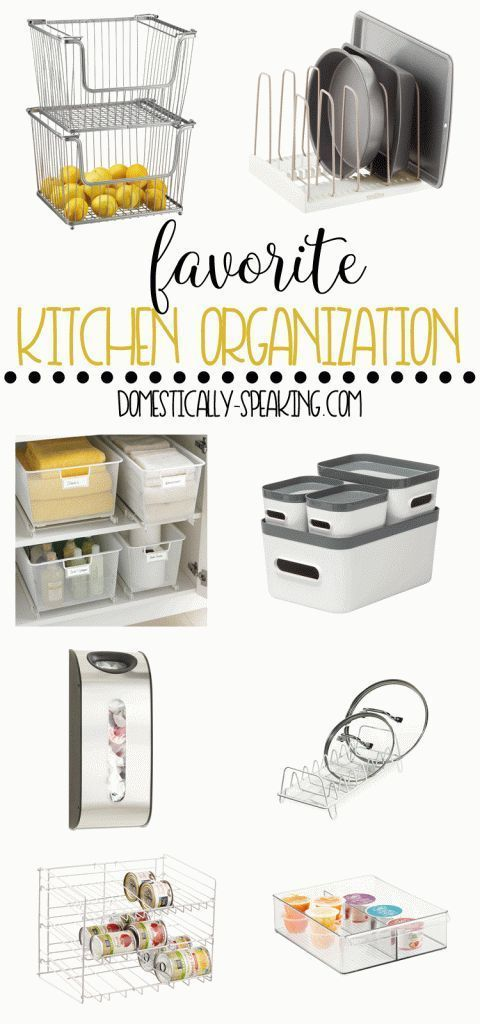 Kitchen Organization Products Cabinets Storage Favorite Organizing Tips Pinterest Pantry Shelves Countertops And More