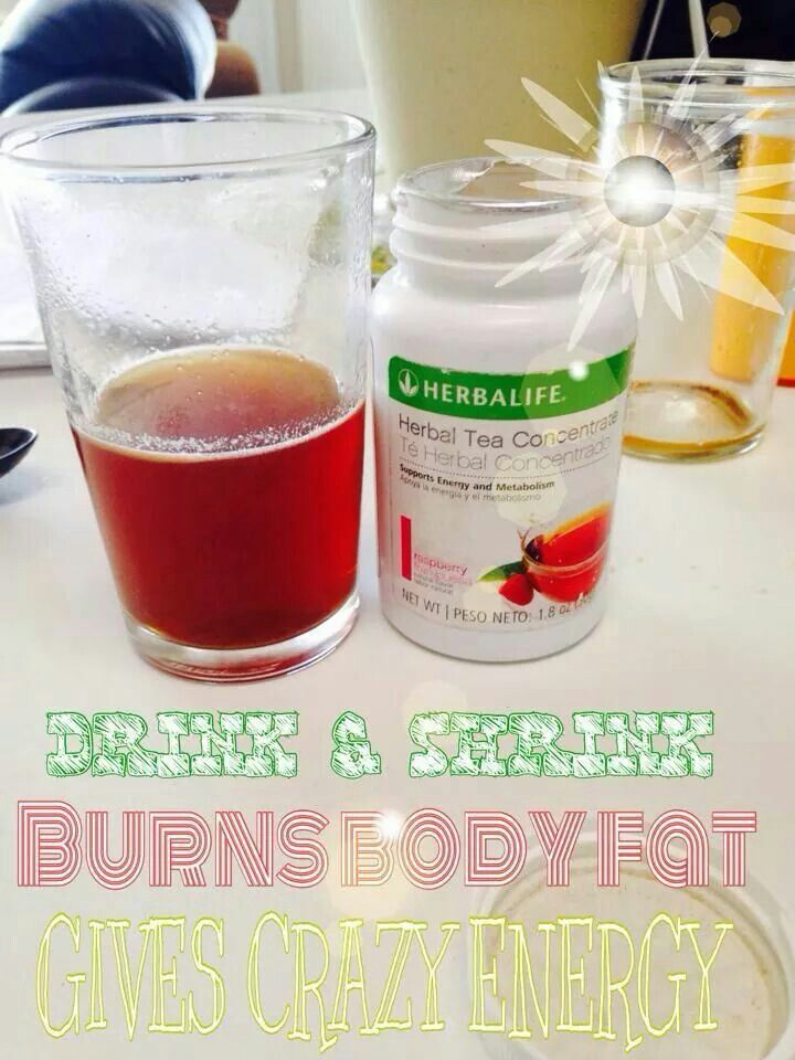 Herbalife Raspberry with a Pomegranate Lift Off for energy ...