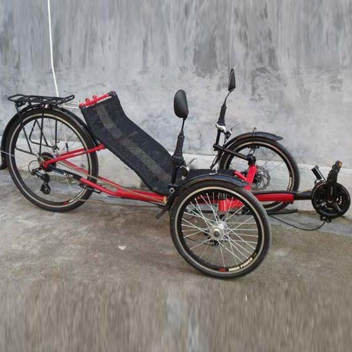 Reclinada Bicicletas ejercicio Trike triciclo 3 ruedas de la bici Ligfiets Bicicletas Reclinadas Trike Liegerad plegable Bicicletas Fahrrad deportes nuevo(China (Mainland))