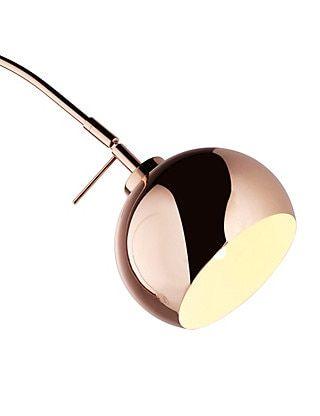 Copper Curve Floor Lamp | M&S