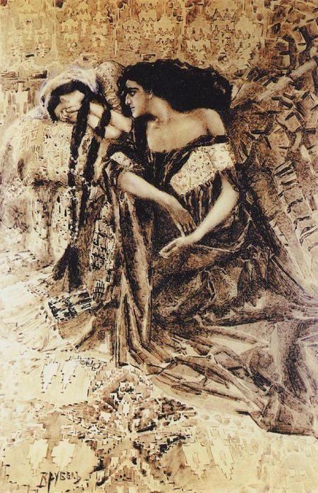 Tamara and Demon, Vrubel