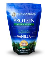 Sunwarrior♥  A 98% correlation rate to Mother's Milk and a 98.2% digestion efficiency, one of the highest digestibility and efficiency ratings of any other protein sources (compared to whey and soy).