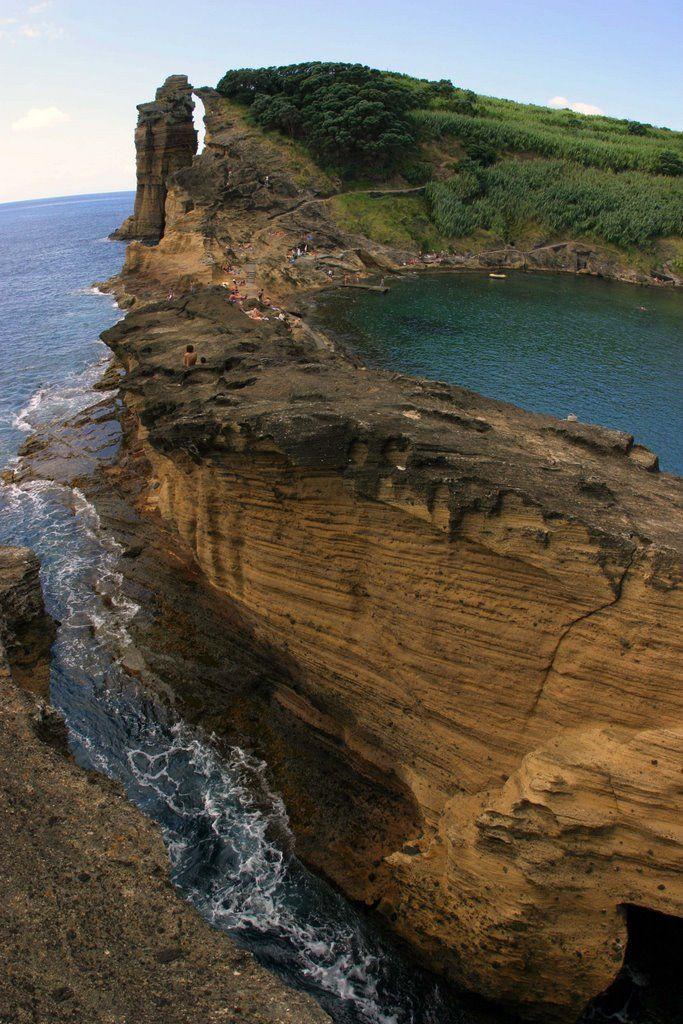 Ilhéu de Vila Franca do Campo, Açores, Portugal