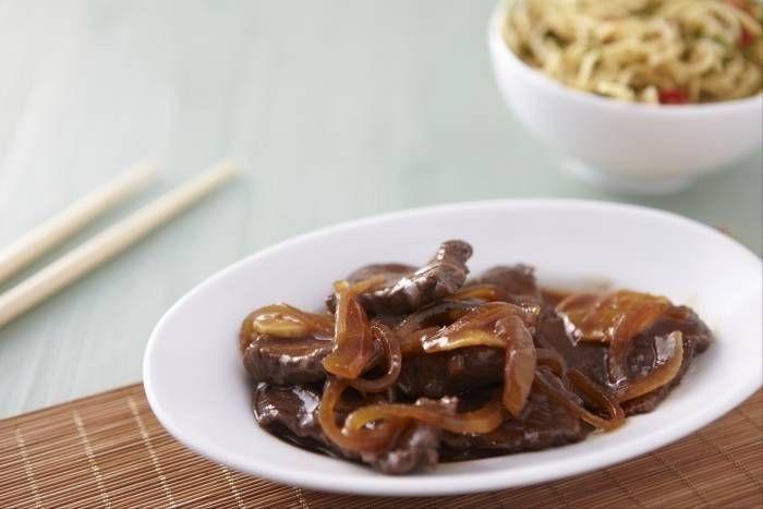 Recette de Boeuf aux oignons chinois