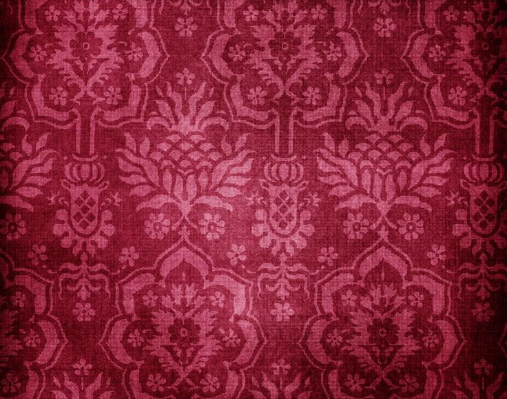 Burgundy wall paper